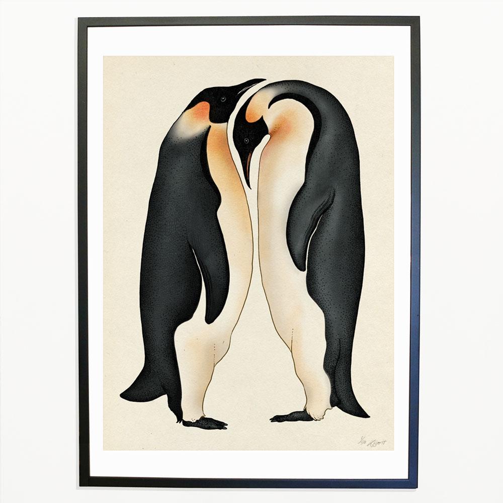 Penguins Print Katie Scott